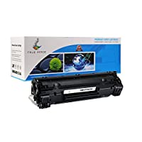 TRUE IMAGE Compatible HP CF283A 83A Black Toner Cartridge for HP LaserJet Pro MFP M125a, M125nw, M125rnw, M126a (Black) [並行輸入品]