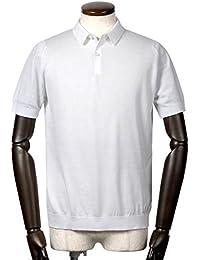 ジョンスメドレー JOHN SMEDLEY / 18SS!シーアイランドコットン30ゲージ半袖ニットポロシャツ『RHODES』 (WHITE/ホワイト) メンズ