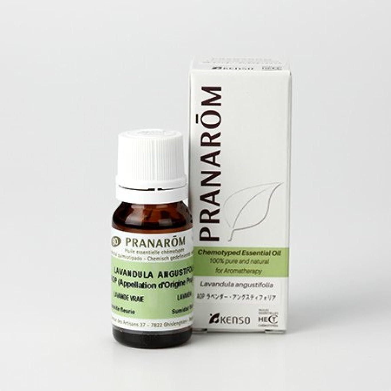 環境に優しいスチール生物学プラナロム AOP ラベンダーアングスティオフォリア 10ml (PRANAROM ケモタイプ精油)