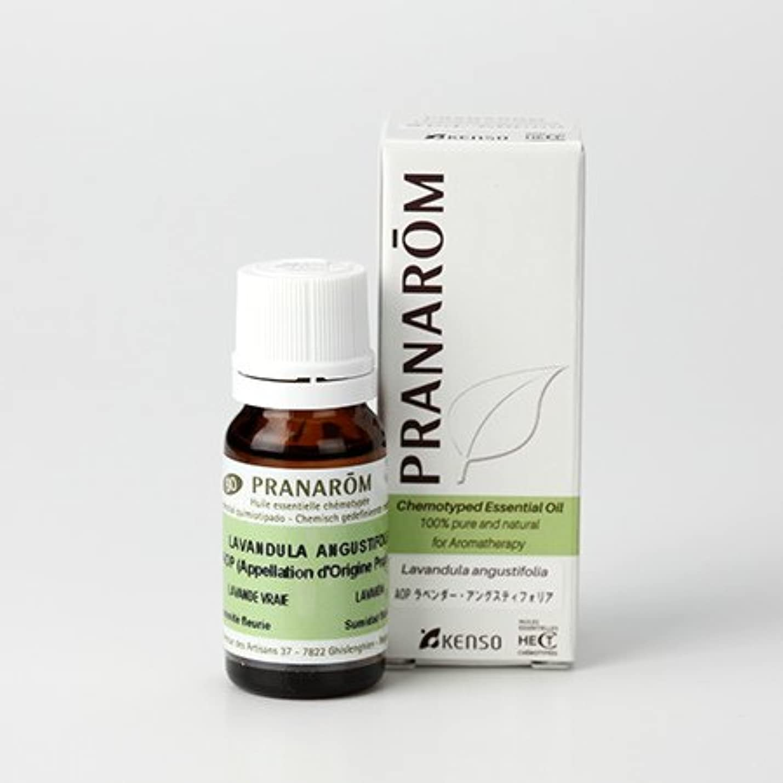 結核診断する冗談でプラナロム AOP ラベンダーアングスティオフォリア 10ml (PRANAROM ケモタイプ精油)