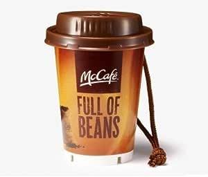 McDonald's FOOD STRAP/マクドナルド フードストラップ 第1弾 【6.プレミアムローストコーヒー(M)】(食玩) 記号:ほし