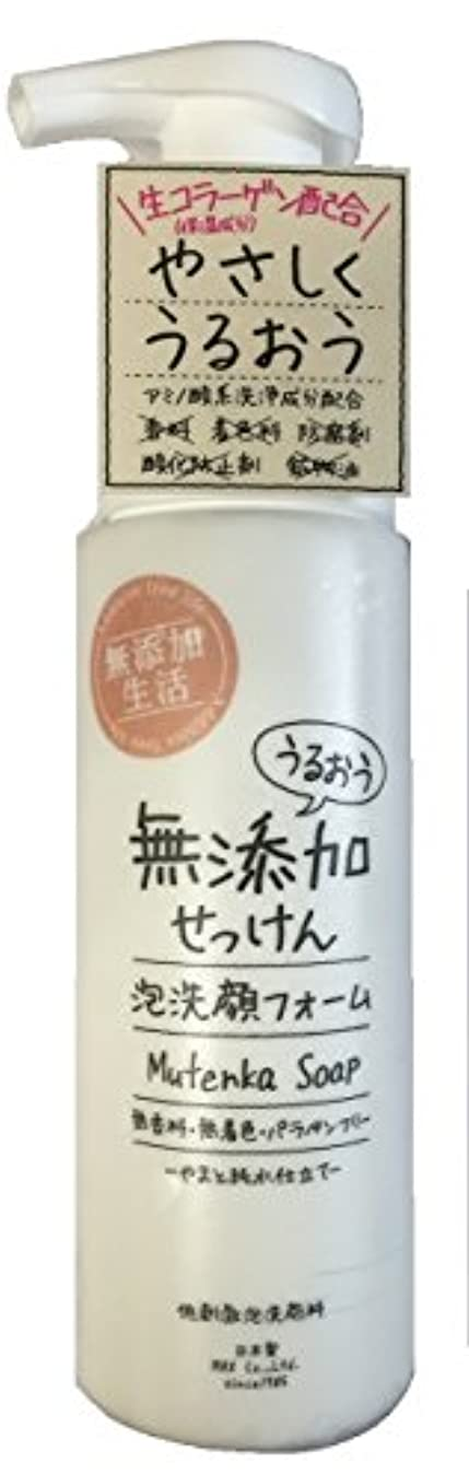 幻影取り除く膨らませるうるおう無添加泡洗顔フォーム 200mL