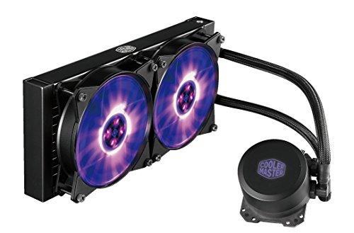 Cooler Master MasterLiquid ML240L RGB 水冷CPUクーラー [Intel/AMD両対応] FN1138 MLW-D24M-A20PC-R1