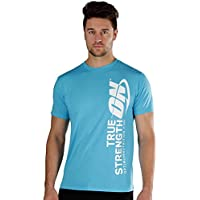 Optimum Nutrition: ON Apparel True Strength Unisex T-Shirt, Blue