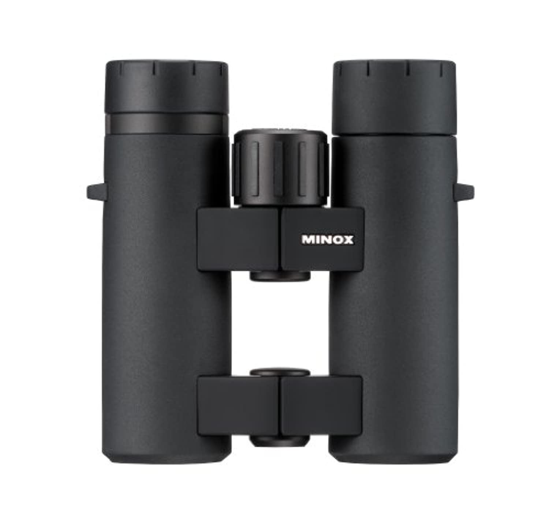 Minox快適ブリッジ62197 BL 8 x 33 BR mid-size防水双眼鏡(ブラック)