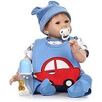 Manyao 赤ちゃん 人形ソフトシリコンシミュレーション人形新生児生き物ラブリーベビー玩具幼児期