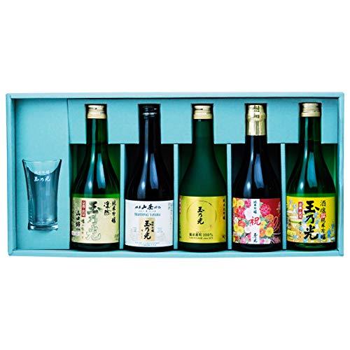 京都 伏見の蔵元 玉乃光 米100%の日本酒 純米大吟醸 純米吟醸 飲み比べセット