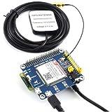 4G / 3G / GNSS HAT Module for Raspberry Pi Zero/Zero W/Zero WH/2B/3B/3B+ Based on SIM7600A-H, 4G Communication and GNSS Posit