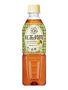 UCC 紅茶の時間 ティーウィズレモン 低糖 ペットボトル 500ml ×24本