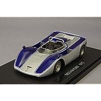 エブロ 1/43 ニッサン R383 1970 シルバー/ブルー 完成品