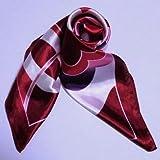 カラフル艶やかなシルク  スカーフ  シルクロードの起点【西安】からの贈り物    中国雑貨
