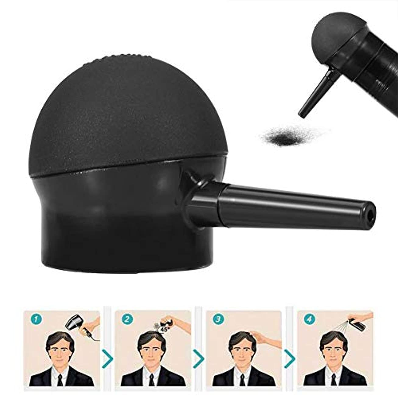 肌寒いコンピューターを使用するむしろヘアー 噴霧器、スプレー、アプリケーションヘア、ビルディング、ファイバー用ノズル、ヘア シックニング ツール