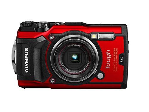 OLYMPUS デジタルカメラ Tough TG-5 レッド ...