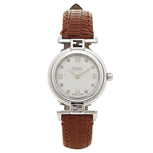 [フェンディ] 時計 レディース FENDI F271242D モダ 腕時計 ウォッチ シルバー/ゴールド/ブラウン/ホワイト [並行輸入品]