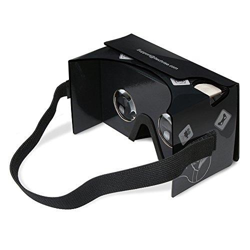 3D VR ゴーグル、TechRise 3Dメガネ 組み立て式...