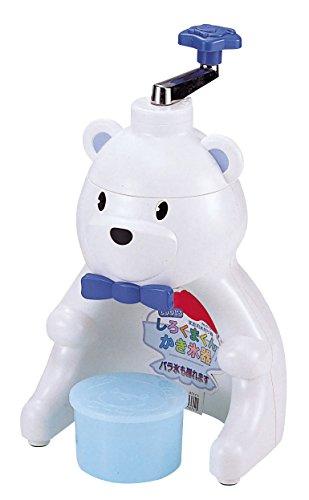 パール金属 かき氷器 しろくまくん クールズ 製氷 カップ 1個付 日本製 D-1371 -