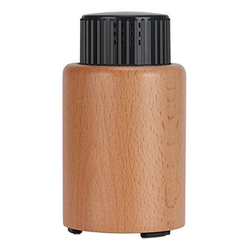 Skey ネブライザー式 アロマディフューザー 静音 アロマ芳香器 安眠 空気浄化器 部屋 車内 ヨガ室 整体院人気 専用精油瓶付き プレゼント 6畳 (生活の木)