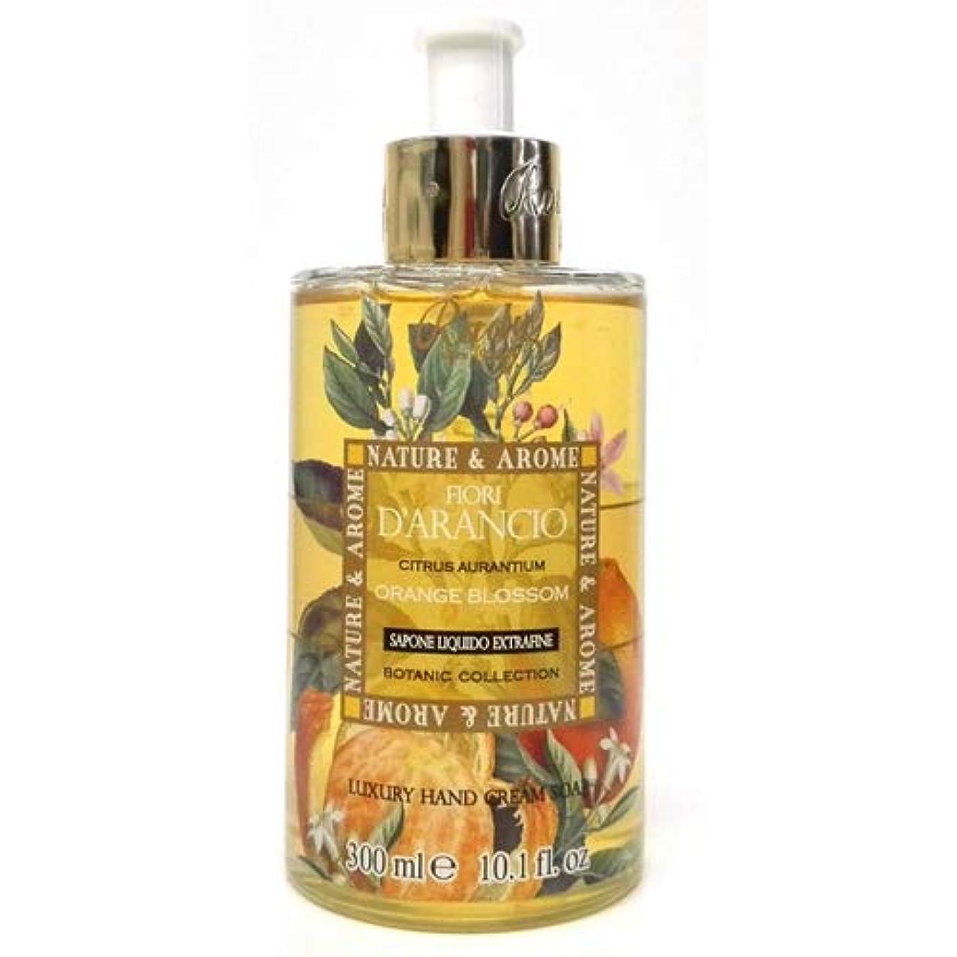 一人で剥離化合物RUDY Nature&Arome SERIES ルディ ナチュール&アロマ Liquid Soap リキッドソープ オレンジブロッサム