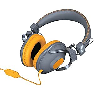 iSound HM-260 Dynamic Stereo Headphones with in-line Mic and Volume controls (orange) [並行輸入品]