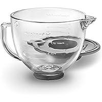 KitchenAid キッチンエイド スタンドミキサー用 ガラス製ボウル 5-Quart Glass Bowl 並行輸入品