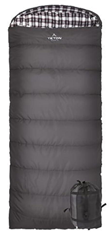 豆腐野望悪意TETON Sports Fahrenheit XXL -25F sleeping bag(寝袋); TETON sleeping bag(寝袋) Great for Cold Weather Camping; Lightweight sleeping bag(寝袋); Hiking, Camping; Grey, Left Zip [並行輸入品]
