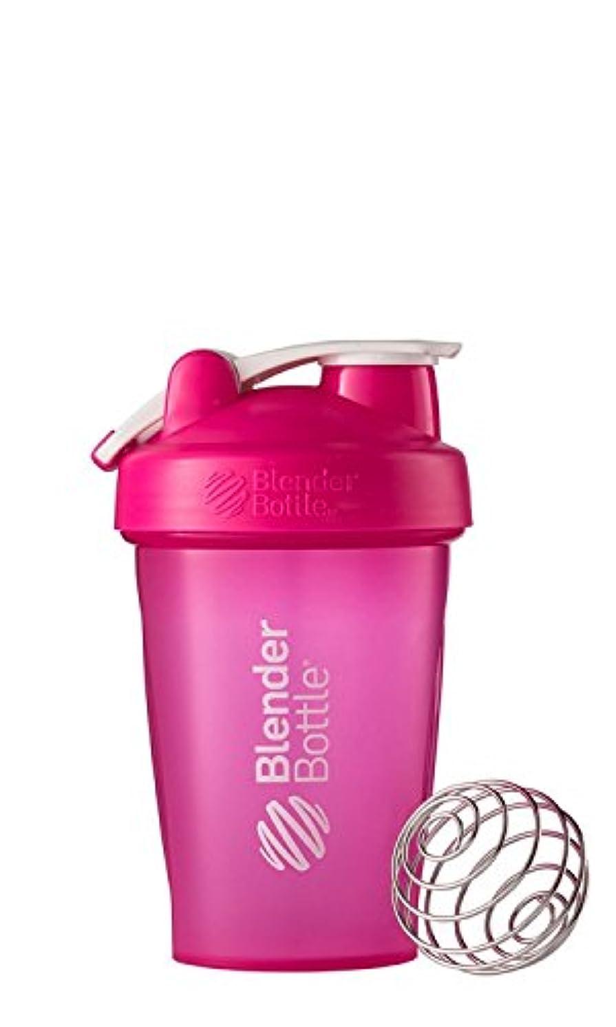 サーカス憤る骨の折れるBlender Bottle(ブレンダーボトル) Blender Bottle Classic w/Loop PINK/PINK 20オンス(600ml) [並行輸入品]