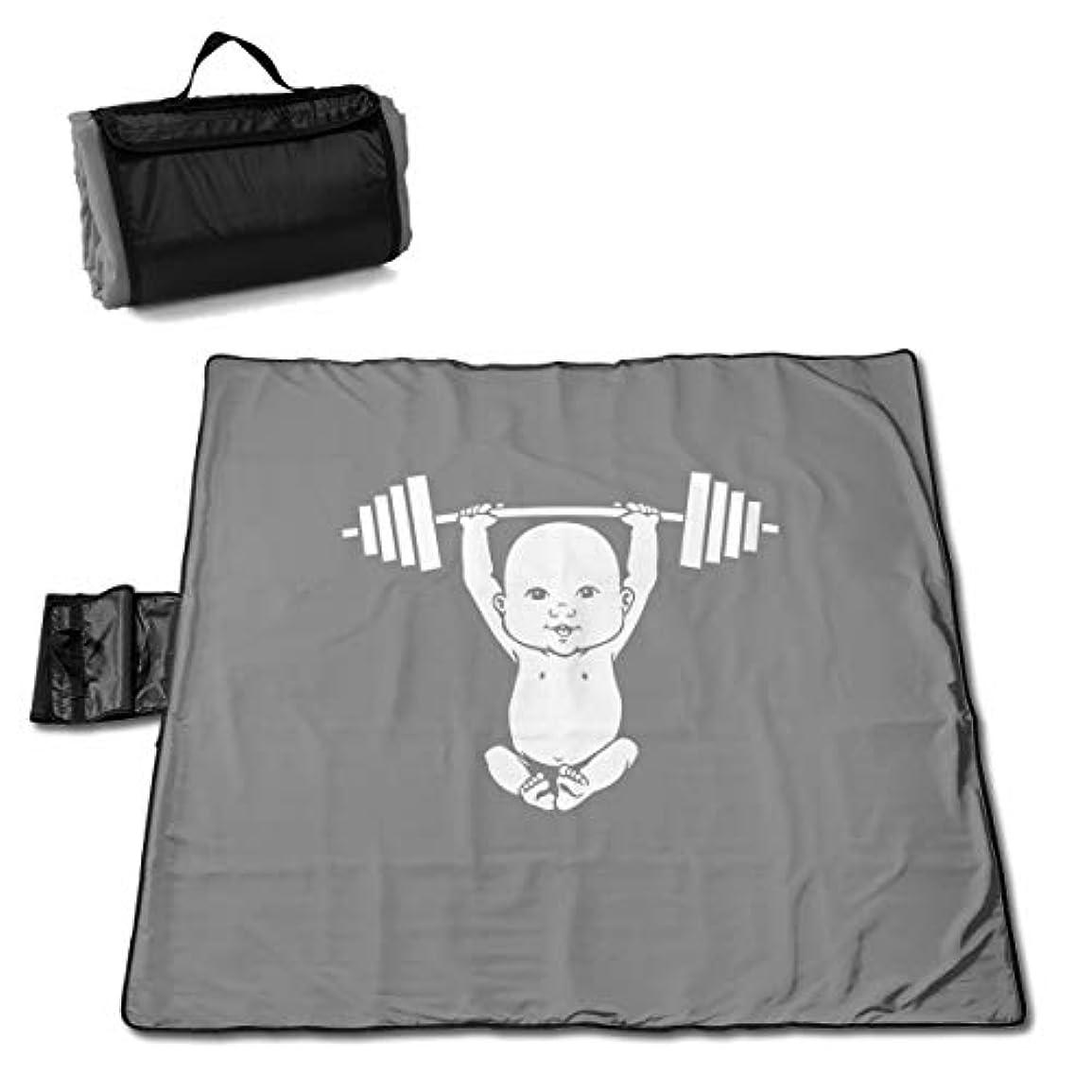 胸カビなめるQQ LOVE 赤ちゃん リフター レジャーシート ピクニックシート 厚手 レジャーマット 折り畳み 150*145 Cm