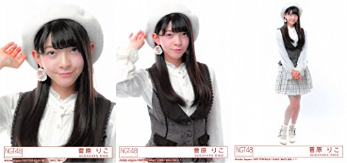【菅原りこ】 公式生写真 NGT48 青春時計 封入特典 3...
