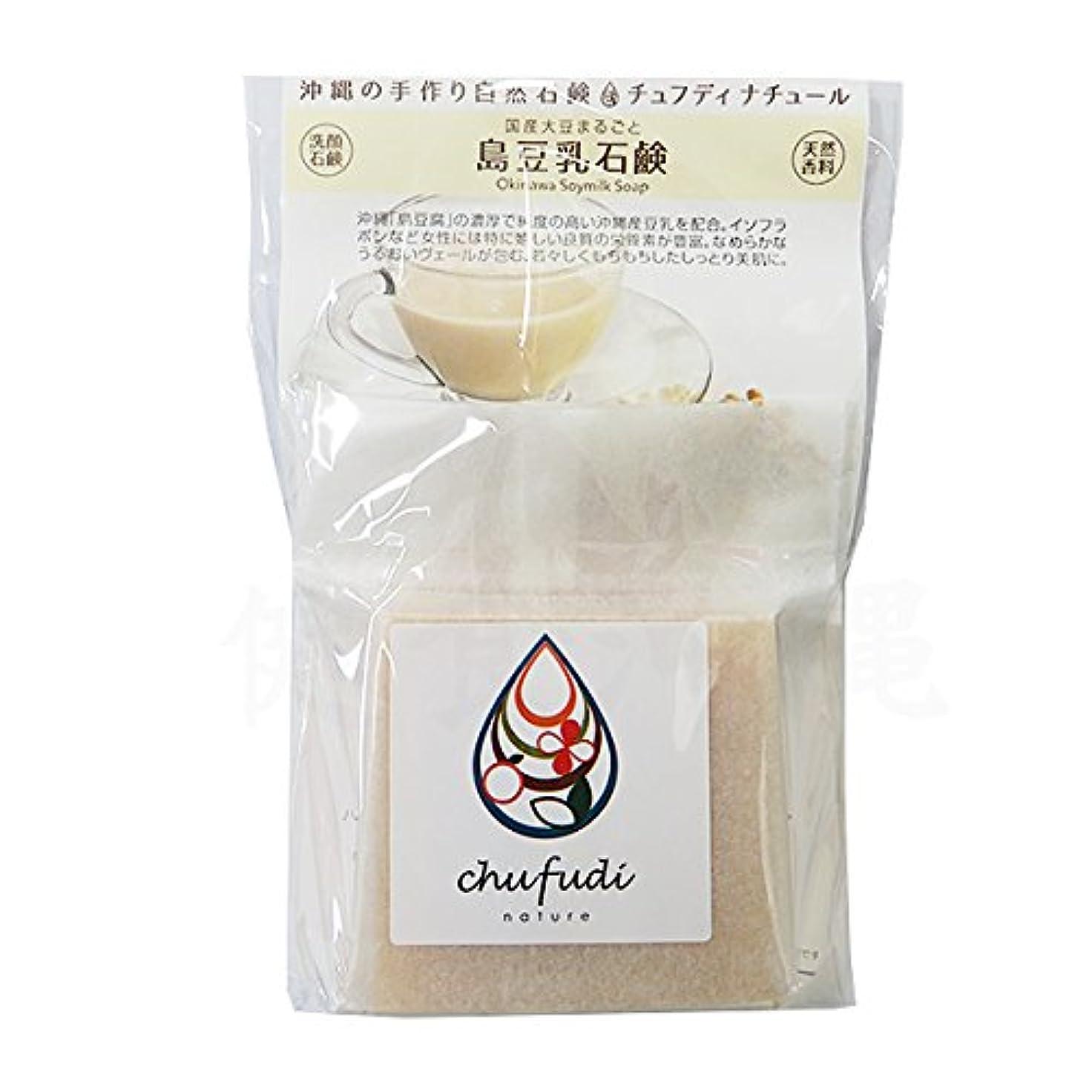 つばほかに効能チュフディナチュール 豆乳石鹸 100g