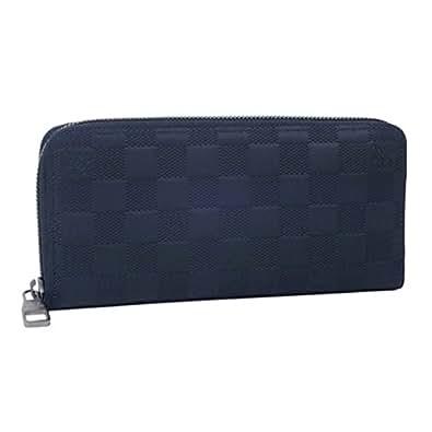 ルイヴィトン Louis Vuitton 長財布 メンズ ジッピーウォレット・ヴェルティカル ダミエ・アンフィニ コスモス N63549 【並行輸入品】