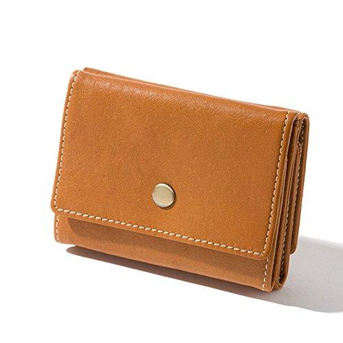 極小財布 本革 財布 小銭入れ 小さい財布 三つ折り ボックス型 小銭入れ ...