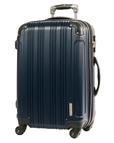 L型 ミッドナイト / メッシュQueendom TSAロック搭載 スーツケース キャリーバッグ 大型 (5~10日用)