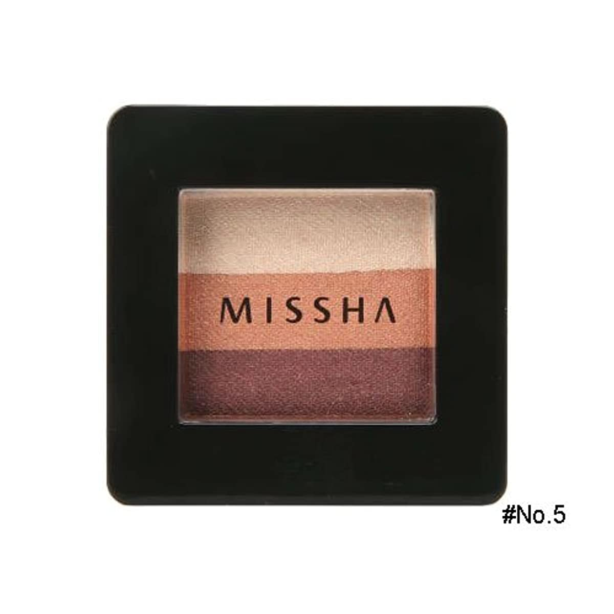 公使館世代徐々にミシャ(MISSHA) トリプルシャドウ 2g No.5(ビンテージプラム) [並行輸入品]