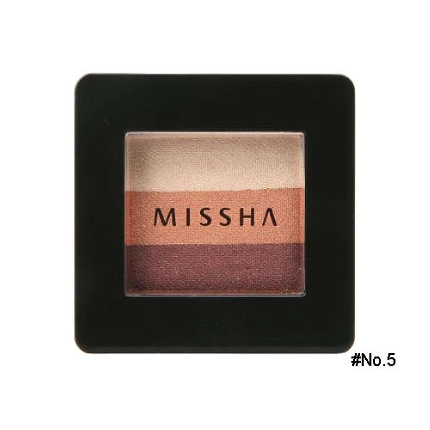 仕立て屋成果ローズミシャ(MISSHA) トリプルシャドウ 2g No.5(ビンテージプラム) [並行輸入品]