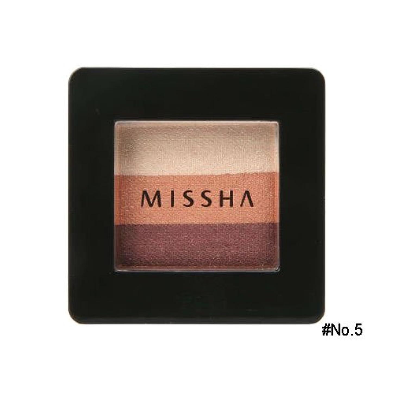 リスナー強化感心するミシャ(MISSHA) トリプルシャドウ 2g No.5(ビンテージプラム) [並行輸入品]
