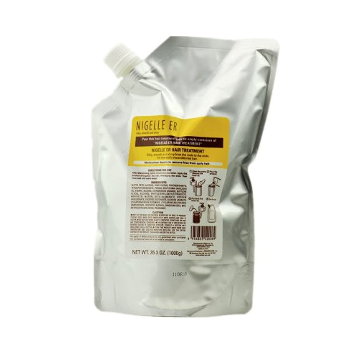 最近ハンディキャップ賞賛するNigelle ER Treatment, 35.3 oz - refill bag by Nigelle by Milbon