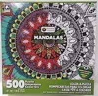 Karmin InternationalカラーAパズル–Mandalasチャクラデザインパズル( 500Piece )