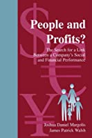 People and Profits?: The Search for A Link Between A Company's Social and Financial Performance (Series in Organization and Management) (Organization and Management Series)