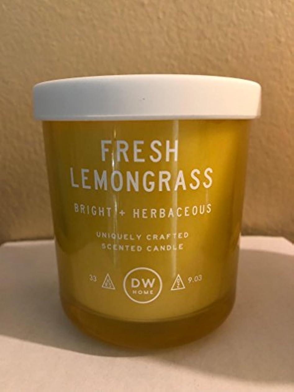 議論する推進、動かすファランクスDWホームフレッシュレモングラス香りつきMedium Single Wick Candle