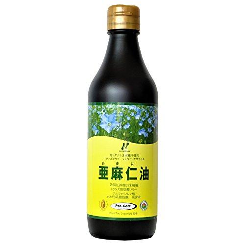 ニューサイエンスの有機亜麻仁油