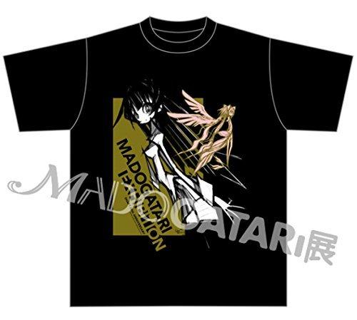 MADOGATARI SHAHT イベント限定 東京展 化物語 ウエダハジメTシャツ A (戦場ヶ原ひたぎ)