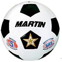 10パックDick Martinスポーツサッカーボールホワイトサイズ4ゴム