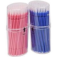 マイクブラシ 歯科ブラシ 精密機器の細部の清掃など 幅広く使える 使い捨て 4 * 100=400本入り Annhua