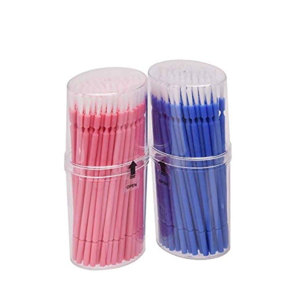 それら専門化する大混乱マイクブラシ 歯科ブラシ 精密機器の細部の清掃など 幅広く使える 使い捨て 4 * 100=400本入り Annhua