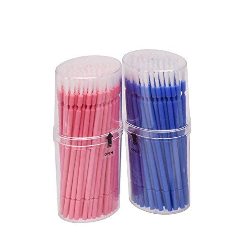 重荷助けになるベッドマイクブラシ 歯科ブラシ 精密機器の細部の清掃など 幅広く使える 使い捨て 4 * 100=400本入り Annhua
