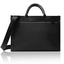 GLEVIO(グレヴィオ)ビジネスバッグ A4対応 通勤 通学 出張 2way 超軽量 父の日 ブラック