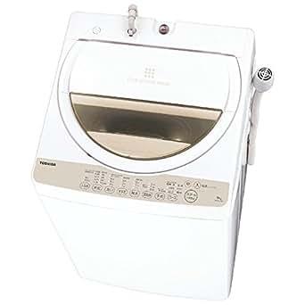 東芝 6.0kg 全自動洗濯機 グランホワイトTOSHIBA AW-6G3-W