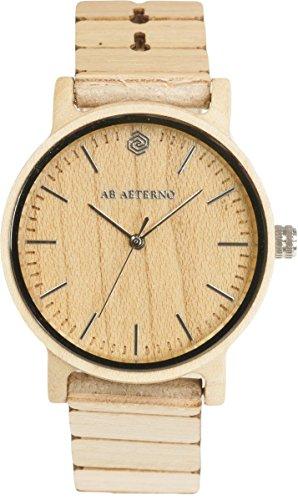 [アバテルノ]AB AETERNO 腕時計 HARMONY COLLECTION ウッド WAVE 40mm 9825016 メンズ 【正規輸入品】