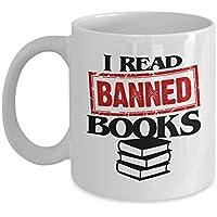 Banned Books コーヒーマグ 11オンス - 聖書の言葉 ワームマグ - 禁止された本 マグ