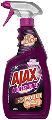 Ajax Professional Mould Remover Low Fumes Household Grade Cleaner Trigger Surface Spray Made in Australia 500m